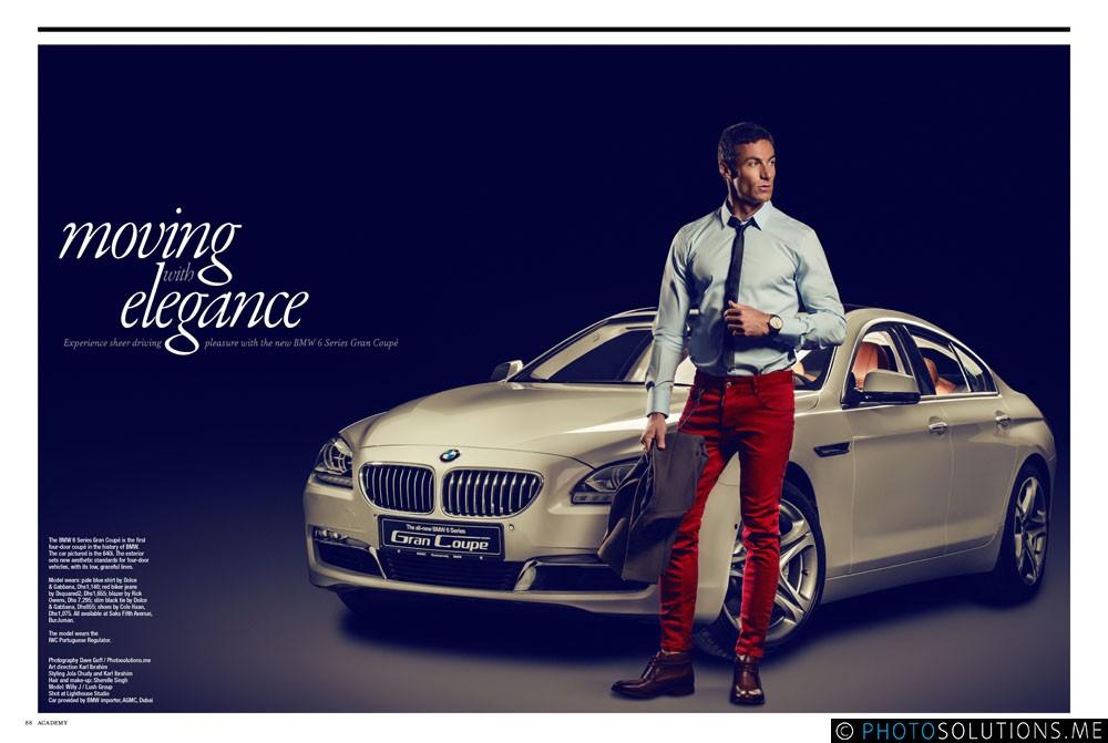 Moving Elegance for BMW