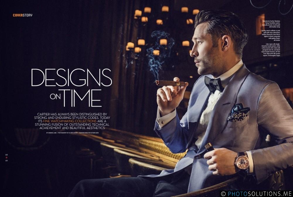 Fashion Shoot for Cartier