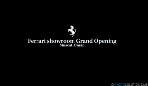 Ferrari Showroom Grand Opening, Muscat