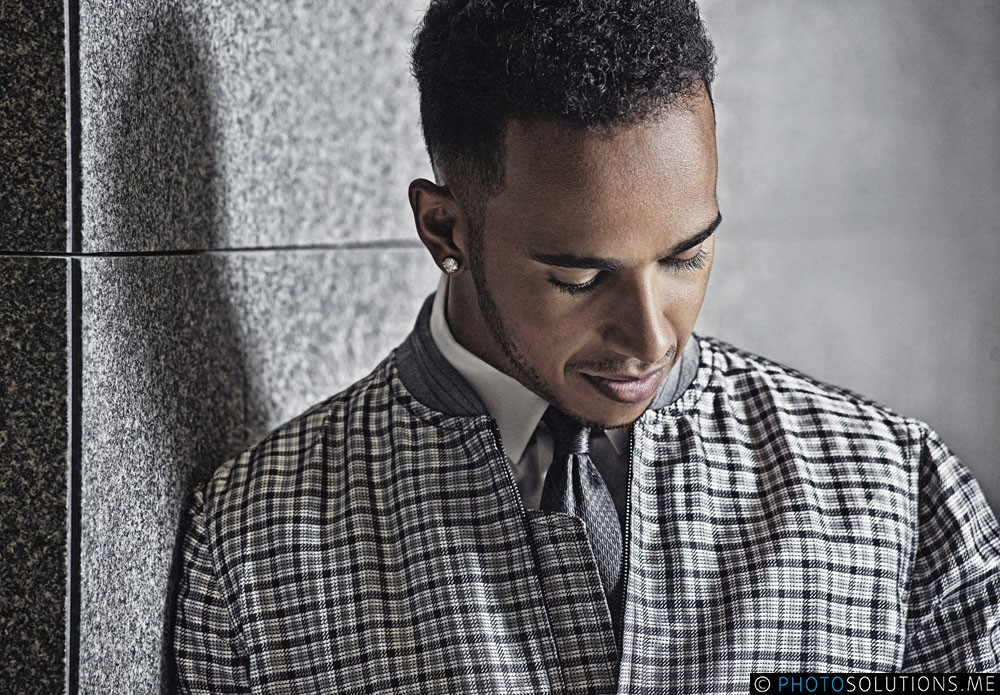 Editorial Shoot with Lewis Hamilton