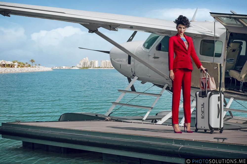 Breitling & Tumi Editorial Fashion Shoot