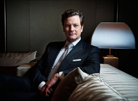 Portrait Photography for Colin Firth at Chivas' Legends Dinner