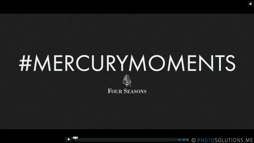 #Mercury Moments @ Four Seasons