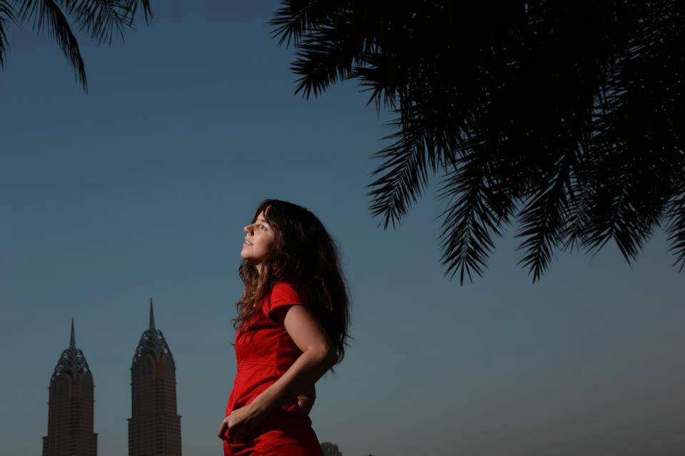 Anne… a German photographer visiting Dubai
