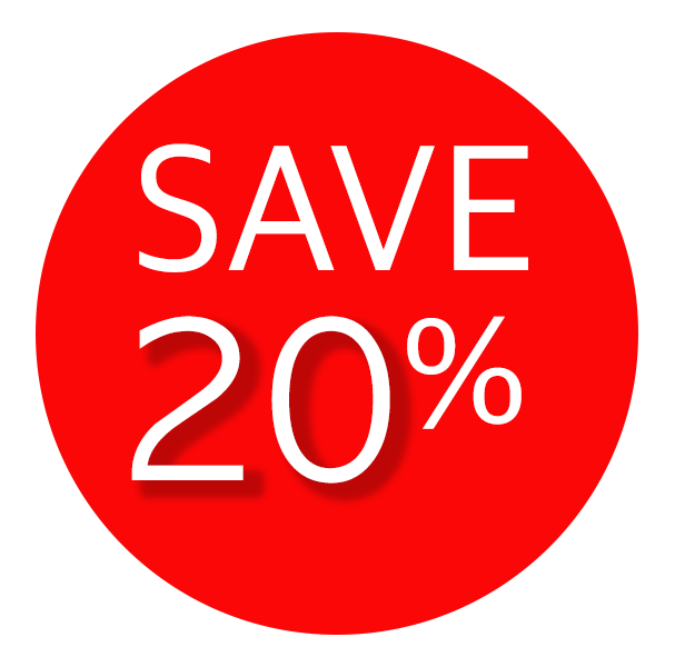 20% Summer Discount
